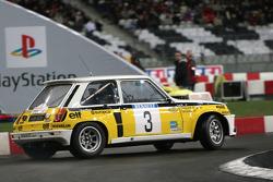 Demostración de Jean Ragnotti en el Renault r5 Maxi Turbo