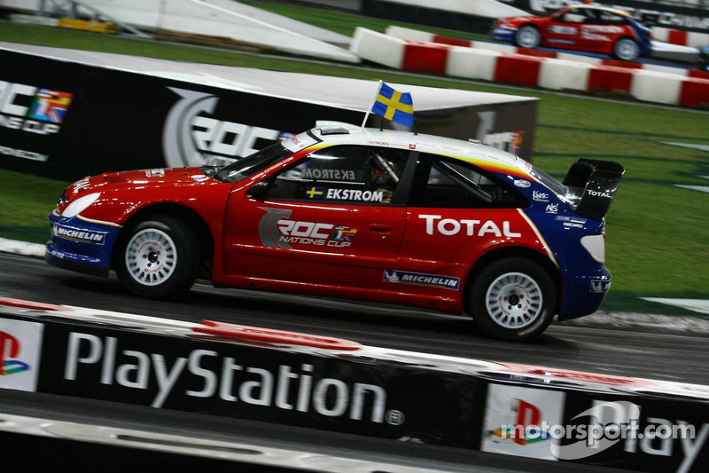 Nations Cup 2005 : Scandinavie (Matthias Ekström/Tom Kristensen)