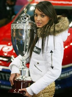 Una chica de la Carrera de campeones
