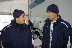 Mark Webber BMW WilliamsF1 Team pilotu 2005 ve Alex Zanardi