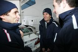 Alex Zanardi et Mark Webber