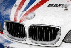 Détail de la monoplace BMW M3 GTR