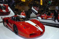 Luca Badoer mit dem Ferrari FXX
