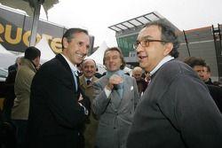 Mauro Tedeschini, Luca di Montezemolo et Sergio Marchione