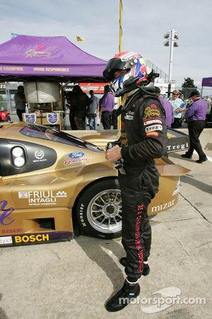 Fabrizio Gollin en pole position