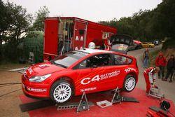 The new Citroën C4 WRC 2007