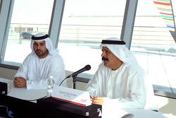 Sheikh Maktoum Hasher Maktoum Al Maktoum and Saeed Khalfan