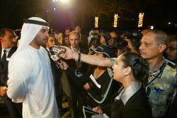 Dubai welcome party: Sheikh Maktoum Hasher Maktoum Al Maktoum