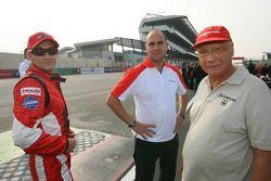 Mathias Lauda with father Niki