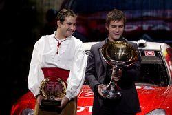 Daniel Elena et Sébastien Loeb champions du monde de WRC