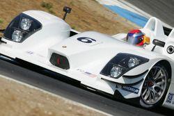 Lucas Luhr teste la Porsche RS Spyder-LMP2