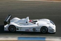 Lucas Luhr tests the Porsche RS Spyder-LMP2