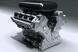 The new AER V8 Turbo powerplant that will be ran by Dyson Racing in 2006
