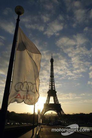 Les couleurs d'Audi à Paris