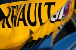 Cubierta de motor de Renault F1
