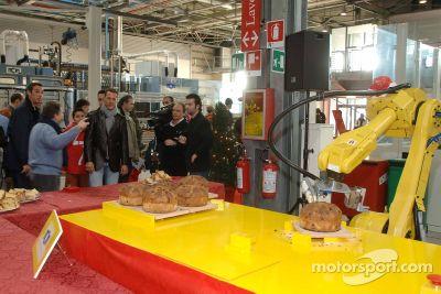 Fête de Noël chez Ferrari