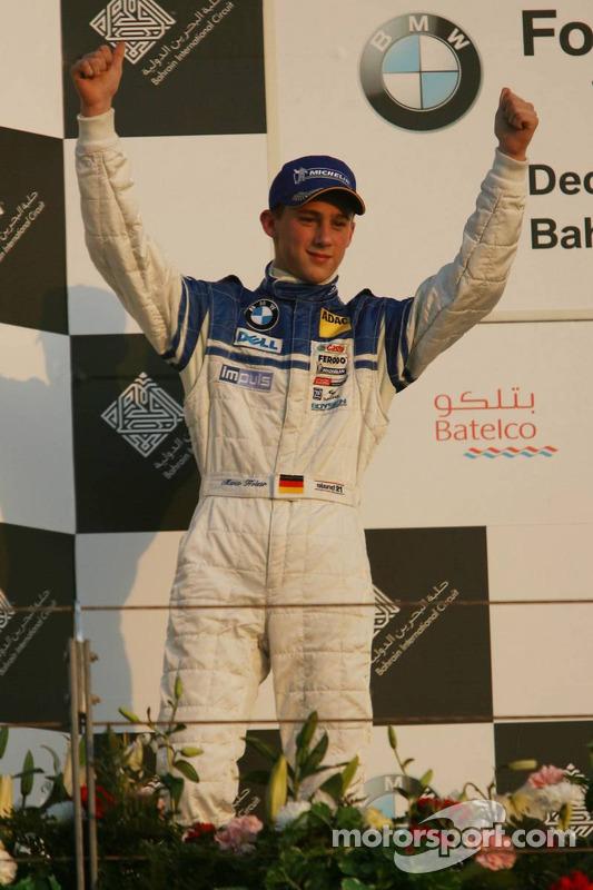 Podium : le vainqueur Marco Holzer