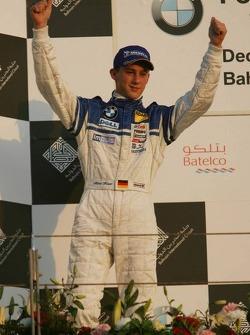 Podium: winner Marco Holzer