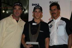 Nigel Mansell, Marco Holzer et Dr Mario Theissen