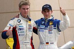 Le vainqueur Marco Holzer et Nico Hülkenberg
