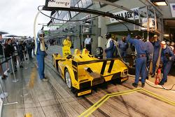 Entraînement d'arrêt au stand pour l'équipe Chamberlain Synergy Motorsport