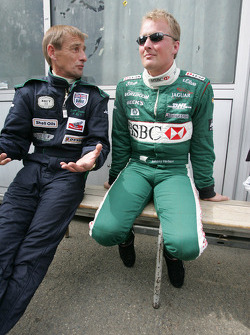 Stuart Graham et Johnny Herbert