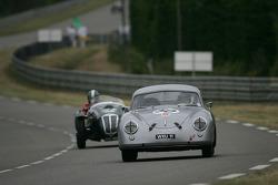 La Porsche 356 n°50 : Richard Clark, Andrew Prill