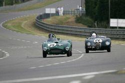 Frazer Nash Sebring n°35 : James Baxter, Jaguar C-type n°24 : Nick Finburgh, Oliver Crossthwaite