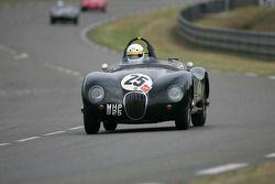 Jaguar C-type n°25 : David Wenman, Julian Bronson