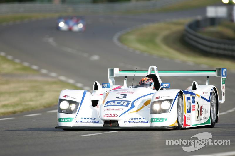El R8 #3 de Champion Racing: JJ Lehto, Marco Werner y Tom Kristensen