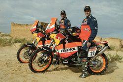 Team Repsol Junior ; Jordi Duran et Jordi Viladoms
