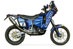 The Gauloises KTM of David Casteu
