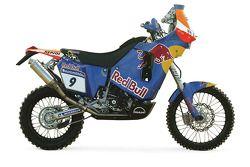 La KTM Red Bull de Andy Grider