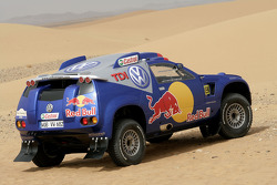 Volkswagen Motorsport: testing of the Volkswagen Race Touareg 2