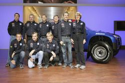 Volkswagen Motorsport: Jutta Kleinschmidt, Fabrizia Pons, Mark Miller, Dirk von Zitzewitz, Bruno Saby, Michel Périn, Carlos Sainz, Andreas Schulz, Giniel De Villiers, Tina Thorner