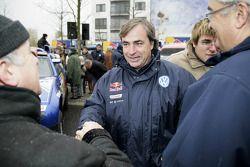 Volkswagen Motorsport en Wolfsburg: Carlos Sainz