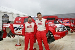 Team Nissan Dessoude presentation: Jean-Marc Fortin and Krzysztof Holowczyc