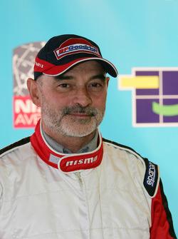 Présentation de l'équipe Nissan à Dessoude: Jacky Dubois