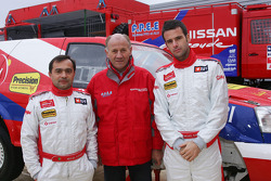 Team Nissan Dessoude presentation: Miguel Ramalho, André Dessoude and Miguel Barbosa