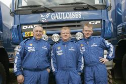 Team de Rooy: Gerard de Rooy, Tom Colsoul et Arno Slaats