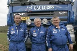 Team de Rooy: Jan de Rooy, Dany Colebunders et Robert van den Broek