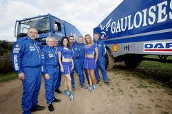Team de Rooy: Jan de Rooy, Dany Colebunders, Robert van den Broek, Gerard de Rooy, Tom Colsoul et Arno Slaats