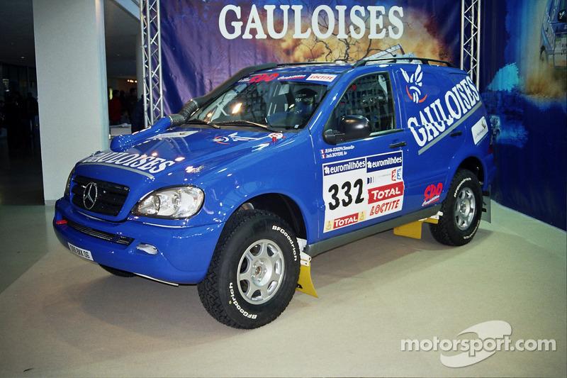 SDO Competition: la Gauloises Mercedes SDO