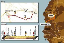 Stage 8: 2006-01-07, Atâr to Nouakchott