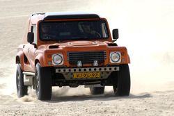 Equipe Dakar Sport: Bob Ten Harkel et Herman Vaanholt essaient la Team Dakar Sport Bowler