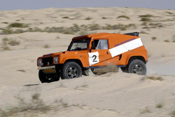 Team Dakar Sport: Rick Aarts and Roland Rypma test the Team Dakar Sport Bowler