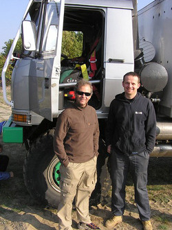 Tomas Tomecek Letka Racing Team: Andre De Azevedo and Tomas Tomecek