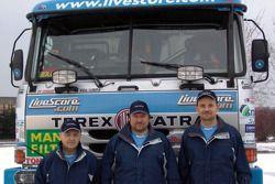Equipe Tomas Tomecek Letka Racing: le pilote et les co-pilotes Tomas Tomecek, Vojtech Moravek et Vlastimil Buchtyar