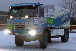 Equipe Tomas Tomecek Letka Racing: le Livescore Tatra 815 Dakar Terrno
