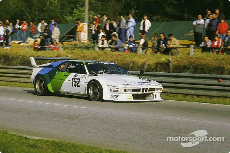 #152 Claude Haldi BMW M1: Harald Grohs, Altfrid Heger, Kurt König
